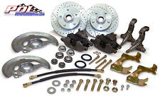 1967-69 Chevy Camaro and Pontiac Firebird, Front Stock Spindle Disc Brake kit