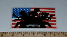 VTG HOOK UPS SKATEBOARD STICKER NOS CHARLIES ANGELS ANIME AMERICAN VIXEN GIRLS !