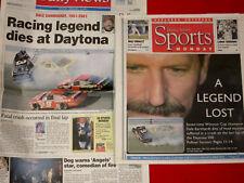 FEB. 19, 2001 DALE EARNHARDT, 1951-2001 / RACING LEGEND DIES AT DAYTONA