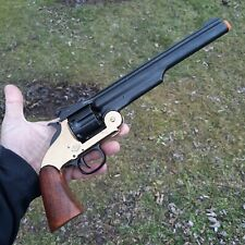 Denix Model 1869 45 Caliber Replica Non-Fire Schofield Single Action Break Opens