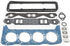 Edelbrock 7361 Top End Head/Intake/Valve Cover/Header Gaskets Small Block Chevy