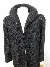 GENUINE Black Persian LAMB COAT Jacket FOR MEN  Sz.M n.04