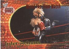 TRISH STRATUS 2002 Fleer WWE INTER-ACTIONS Insert #9IA MIXED TAG TEAM MATCH