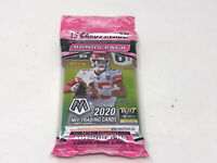2020 Mosaic Football Cello Pack FACTORY SEALED 15 cards-Bonus Pink Camo 3 PK