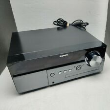 Sony Cmt-Mx500i Micro Hi-Fi Stereo System Speakers Cd Player iPod Dock Tested Ai