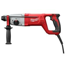 Milwaukee Electric Rotary Hammer Drill 1 in. SDS D-Handle Keyless Chuck Case