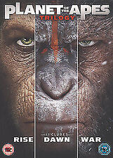 Planet Of The Apes - Trilogy (3 Films) DVD NEW DVD (8452201000)