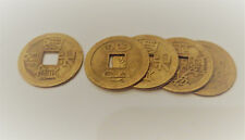 5 x Lucky Chinese Coins - Feng Shui