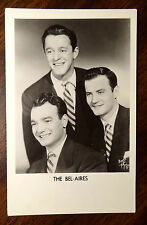 THE BEL-AIRES Music Group Photo Postcard