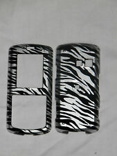 LG BANTER AX265/UX265 BLACK AND SILVER ZEBRA PROTECTOR COVER NEW