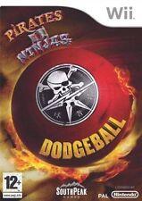 Pirates VS Ninjas DODGEBALL Nintendo Wii Consola De Juegos Robots Zombis Aliens