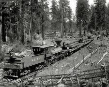 OR Drake BW PHOTO 1909 Silverton Oregon S L Co RR Train
