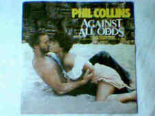 """PHIL COLLINS Against all odds 7"""" GENESIS COLONNA SONORA"""