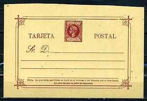 PHILIPPINES, 1898-99, POSTAL CARD
