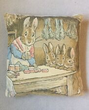 Peter Rabbit Tapestry Pillow *Excellent Condition