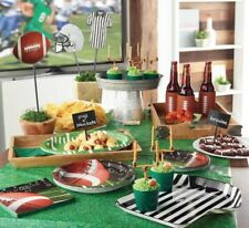 """Sports Grass Table Cover Table Cloth 54"""" X 108"""" SUPERBOWL Around Corner"""