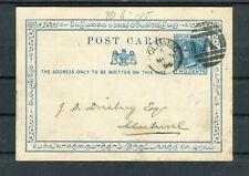 Ganzsache Ceylon (Sri Lanka) Two Cents Colombo-Muhwal - b6633