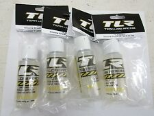 Team Losi Racing 74007 Silicone Shock Oil, 32.5 wt, 2oz Lab Tested Consistent x4