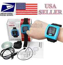 Wrist OLED Pulse Oximeter Watch Type+PC software Spo2 BLOOD oxygen Pulse Ox
