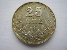 Suecia 1941 Plata 25 Ore vf