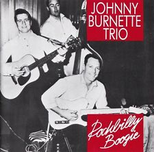 Johnny Burnette Trio OOP GER CD Rockabilly boogie NM '89 Bear Family 28 Trks
