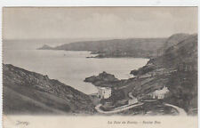 VINTAGE POSTCARD LA BAIE DE BOULEY BOULEY BAY JERSEY POSTED EARLY 20TH CENTURY.
