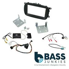 Double DIN Fitting Kit CTKFT13 FIAT 500x 2015 Onwards