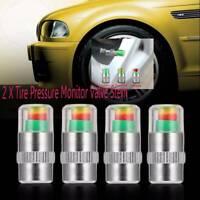 Auto Tire Pressure-Monitor-Valve-Stem-Caps-Sensor Indicator Eye-Alert
