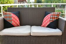 1.3x1.3ft 1 Set Turkish Vintage Handmade Cushion Covers Traditional Kilim Pillow