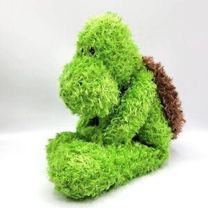 Gund Teegan green brown turtle shell floppy shaggy plush stuffed animal 319628