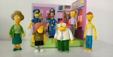 Simpsons World of Springfield Wave 7 action figures / 1 playset complete (loose)
