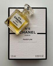 CHANEL No 5 parfum miniature 1.5 ml NEW mini micro bottle BNIB VIP GIFT