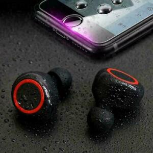 Bluetooth 5.0 Wireless Earbuds Headphone Headset Noise Cancelling TWS Waterproof