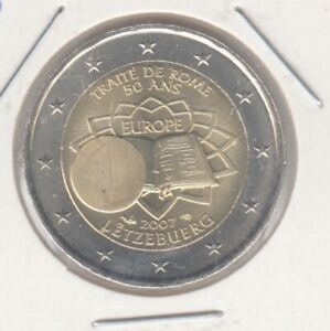 Luxemburg  2 Euro  2007  Römische Verträge  bankfrisch