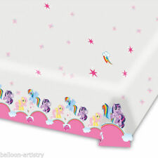 My Little Pony Plastic Party Table Covers and Skirts