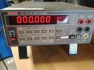 KEITHLEY 199 Système Dmm / Scanner Multimètre