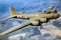 WW2 8x10 Photo WWII US Army Air Force B-17E Bomber Flight World War Two /5201 8x