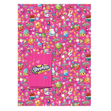 Shopkins Gift Wrapping Paper 2 Sheets 2 tag SK026