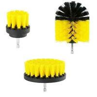 3Pcs Brush Tub Cleaner Combo Tool Kit  Grout Power Scrubber Cleaning