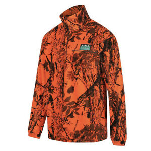 Ridgeline Micro Fleece Long Sleeve Shirt - Blaze Orange