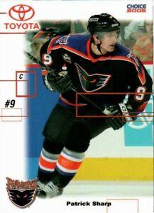 Patrick Sharp 2004-05 Philadelphia Phantoms