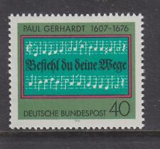 WEST GERMANY MNH STAMP DEUTSCHE BUNDESPOST 1976  PAUL GERHARDT SG 1785