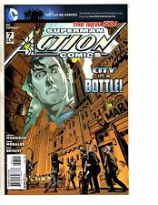 Lot Of 6 Action Comics Feat. Superman DC New 52 Comic Books #7 8 9 10 11 12 TW58