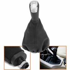 5 Speed Gear Stick Shift Knob W/ Gaiter Cover PU For Mercedes A Class W168 97-04