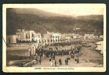Lipari ( Messina ) : Ricorrenza festiva - cartolina viaggiata nel 1925 per USA