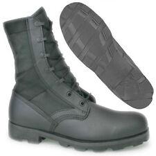 ALTAMA Hot Weather Black Jungle Soles Leather & Canvas Boots 3R Regular
