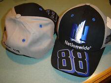 Nascar #88 Dale Earnhardt Jr NATIONWIDE Racing Chkd Flag Sports Big NUMBER Hat