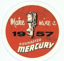 1957 MERCURY OUTBOARD BOAT MOTORS  Sticker Decal