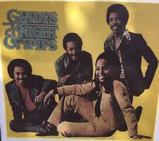Vintage 70s Gladys Knight And The Pips Iron-On Heat Transfer Photo