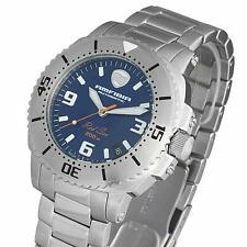 Russian Watch Military Diver New Blue Vostok Amphibia Red Sea 040690 / 2416